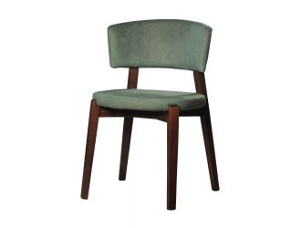Modrest Legacy - Modern Green Fabric Dining Chair (Set of 2)
