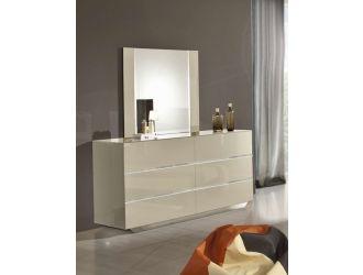 Modrest Luxor Italian Modern Beige Dresser