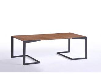 Modrest Garrison Mid-Century Walnut Coffee Table