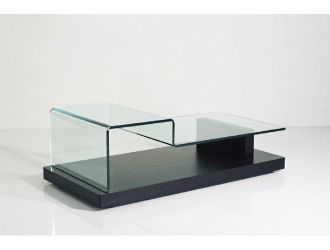 Slope Modern Glass Coffee Table