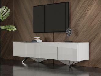 Modrest Columbia - Modern White TV Stand