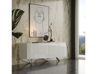 Modrest Columbia Modern White Buffet