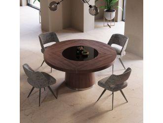 Modrest Houston - Round Modern Dining Table