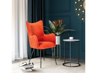Modrest Judith - Modern Red Dining Chair