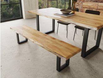 Modrest Secota - Live Edge Acacia Wood Bench