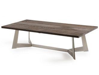 Modrest Wharton Modern Dark Aged Oak Coffee Table