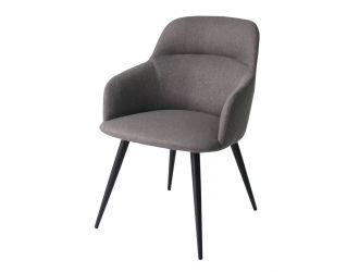 Modrest Scranton - Modern Grey & Black Dining Chair