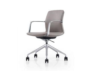 Modrest Sundar - Modern Black Mid Back Conference Office Chair