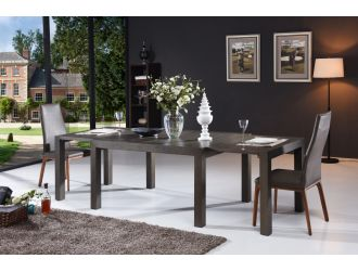 Modrest Galant Modern Grey Oak Extendable Dining Table
