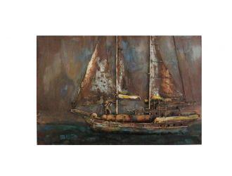 Modrest Pinnace Modern Boat Painting