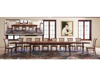 Modrest Anders - Extendable Solid Walnut Beechwood Dining Table