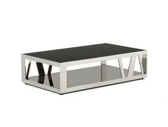 Modrest Sherman Modern Ebony Coffee Table