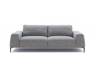 Divani Casa Arthur Modern Grey Fabric Sofa