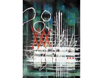 Modrest ADC3510 - Abstract Oil Painting