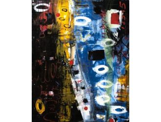 Modrest ADD3236 - Abstract Oil Painting