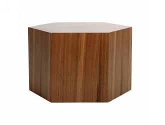 Modrest Newmont - Modern Small Walnut End Table