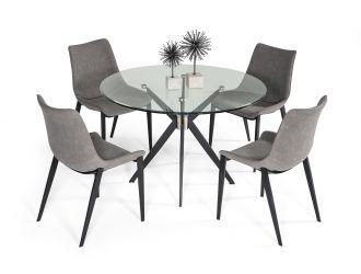 Modrest Dallas - Modern Black Dining Table