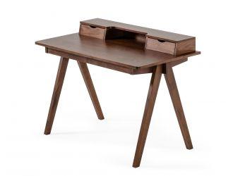 Modrest Boyce - Modern Walnut Office Desk