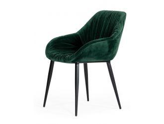 Modrest Katrina - Modern Green Fabric Dining Chair