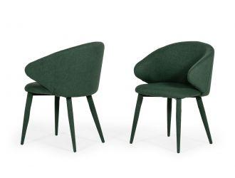 Modrest Keller - Modern Green Dining Chair (Set of 2)