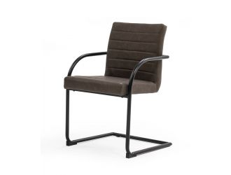 Modrest Ivey - Modern Brown Dining Chair (Set of 2)