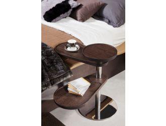 Modrest Abseil Modern Brown Oak End Table