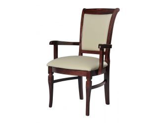 Modrest Anders - Leather Dining Armchair