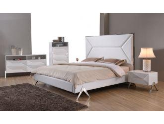 Modrest Candid Modern White Bedroom Set