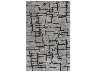 Kaaleen Becker Contemporary Grey 5' x 8' Rug
