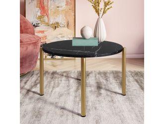 Modrest Denzel - Black Marble + Gold Coffee Table