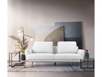 Divani Casa Dolly Modern - Off White Fabric Sofa