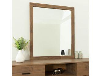 Nova Domus Fantasia - Contemporary Walnut Mirror