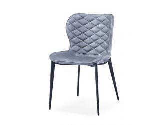 Modrest Felicia - Modern Grey & Black Dining Chair (Set of 2)