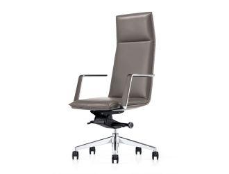 Modrest Gorsky- Modern Grey High Back Executive Office Chair