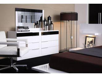 Modrest Impera Bedroom White Dresser