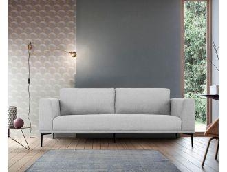 Divani Casa Jada - Modern Light Grey Loveseat
