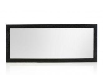 Modrest Logan Modern Black Oak Mirror