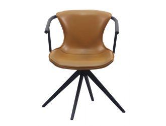 Modrest Maureen - Modern Camel & Black Dining Chair