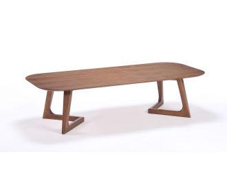 Modrest Jett Mid-Century Walnut Coffee Table