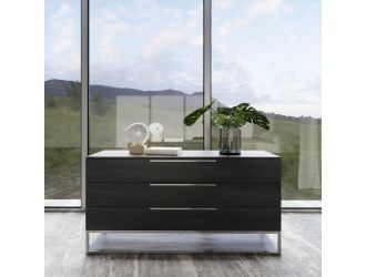 Modrest Heloise - Contemporary Grey Elm Dresser