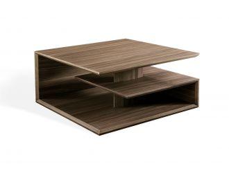 Modrest Raelynn - Modern Walnut Coffee Table