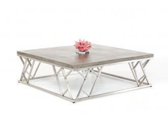 Modrest Scape Modern Concrete Coffee Table
