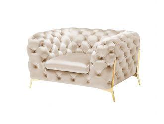 Divani Casa Sheila - Transitional Light Beige Fabric Chair