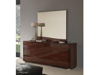Sogno Modern Glossy Dresser