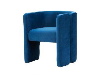 Modrest Tirta Modern Blue Accent Chair