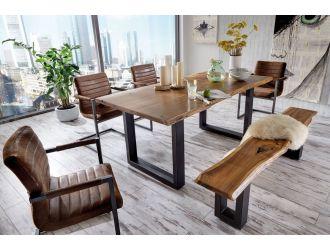 Modrest Taylor - X-Large Modern Live Edge Wood Dining Table