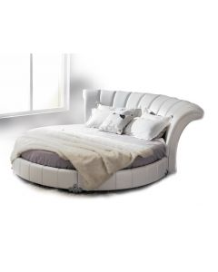 Venetian Eco-Leather Round Bed