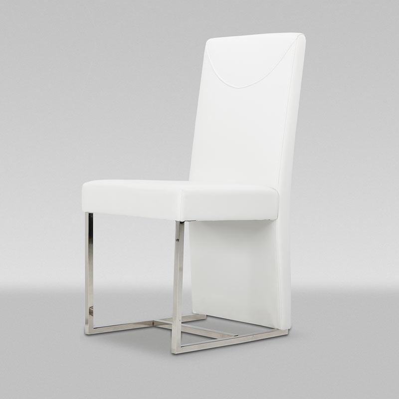 Modern White Chair #0099
