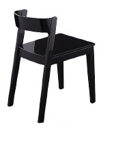 Modern Black Crow Chair VGWCCROW-BLK
