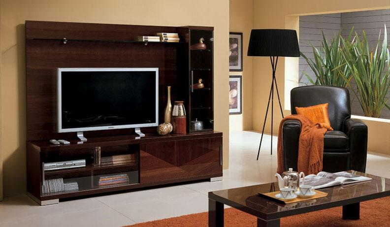 Which is better large tv stands or small tv stands la for Cupboard designs for living room in india
